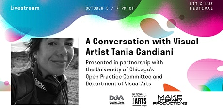 Lit & Luz: An Artist Talk with Tania Candiani tickets