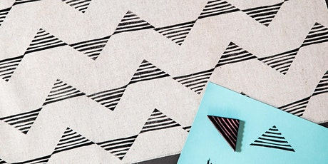 Block Printed Linen Napkins tickets