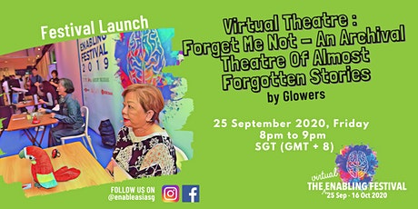 Festival Launch Virtual Theatre:  Forget Me Not tickets