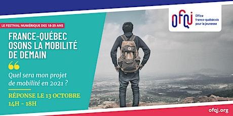 France - Québec : Osons la mobilité de demain billets