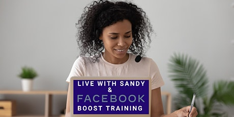 Facebook Boost Training LIVE tickets