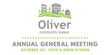 Oliver Community League 2020 Annual General Meeting tickets
