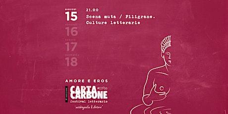 Scena muta / Filigrane. Culture lettererarie biglietti