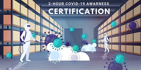 2-Hour Online COVID-19 Awareness Certification tickets