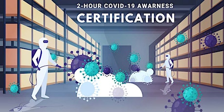 2-Hour Online COVID-19 Awareness Certification - 4pm tickets