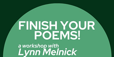 Finish Your Poems! tickets