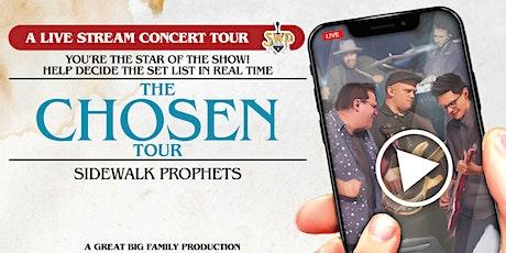 The Chosen Tour - Live Stream Concert (host city Springfield, MA) tickets