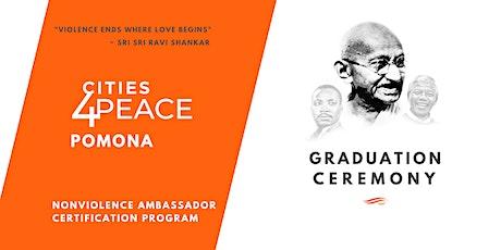 Pomona Nonviolence Ambassadors Graduation Ceremony tickets