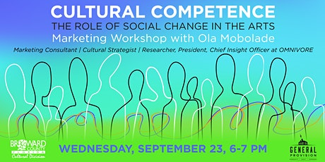 Cultural Competence: Social Change in the Arts tickets