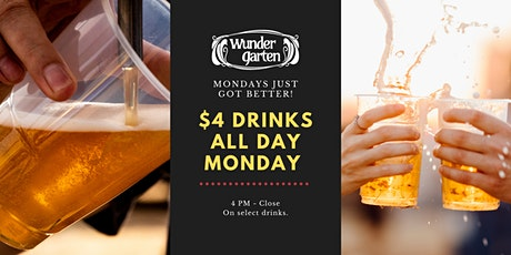 $4 Mondays tickets