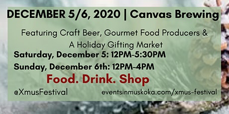 XMUS Holiday Market tickets