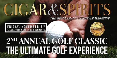 2nd Annual Cigar & Spirit Golf Classic tickets