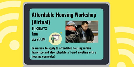 Affordable Housing Workshop (Virtual) tickets