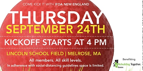 COME KICK IT WITH IFDA NEW ENGLAND tickets