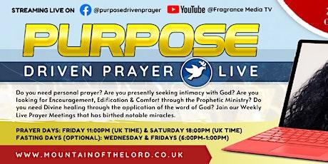 Purpose Driven Prayer (Online) - with P. Gloria Austine tickets