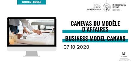 CEE: Canevas du modèle d'affaires | EMC: Business Model Canvas tickets
