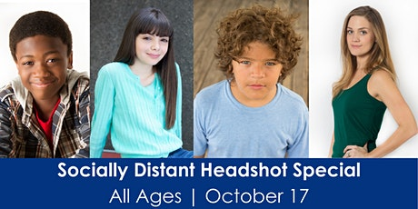 Outdoors Socially Distanced Headshot Special! tickets