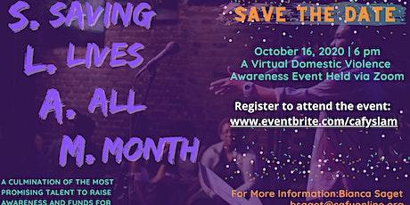 SLAM: Virtual Spoken Word Event biglietti
