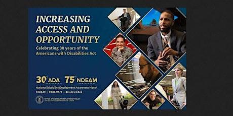 National Disability Employment Awareness Month (NDEAM)-Mental Health tickets