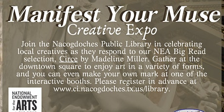Manifest Your Muse Creative Expo tickets