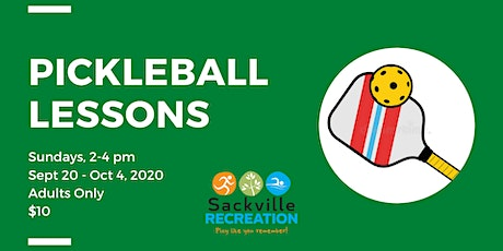 Pickleball Lessons tickets