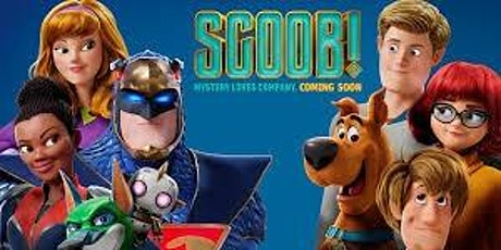 """Drive-in Movie Featuring """"Scoob"""" tickets"""