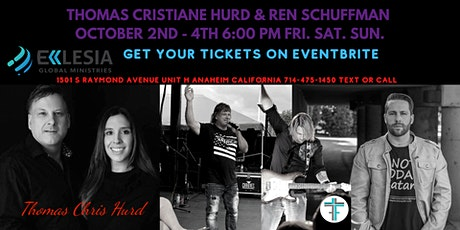 Thomas Hurd, Ren Schuffman, Apostolic and Prophetic Conference tickets