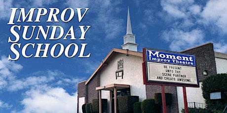 Improv Sunday School ONLINE tickets
