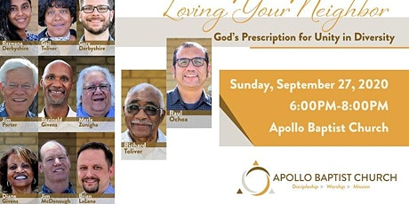 Loving Your Neighbor: God's Prescription for Unity in Diversity tickets