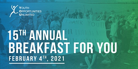 15th Annual Breakfast for YOU tickets