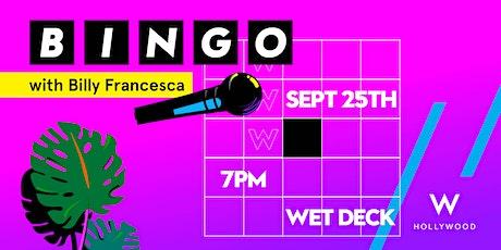BINGO with Billy Francesca tickets