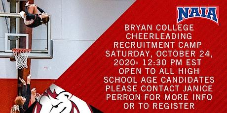 Bryan College Cheer Recruit Camp tickets