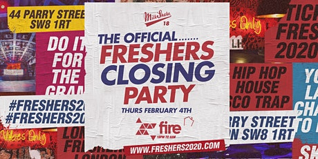 The Official London Freshers Closing Party tickets