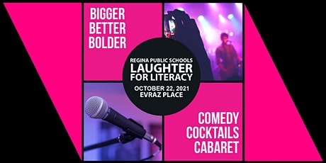 Laughter for Literacy billets