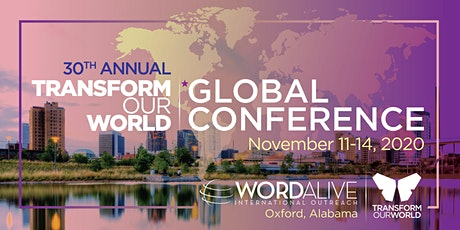 30th ANNUAL TRANSFORM OUR WORLD™ GLOBAL CONFERENCE tickets