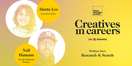 Creatives in Careers - Research and Search tickets
