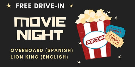 FREE Drive-In Movie Night: Overboard & Lion King tickets