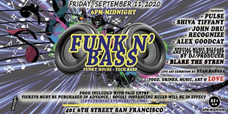 The Endup Presents: Love Tribe- Funk N' Bass Fridays! tickets