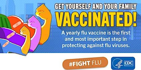 Flu Vaccine Walk in Clinic (Residents 65+) tickets