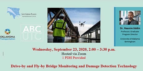 Drive-by and Fly-by Bridge Monitoring and Damage Detection Technology tickets