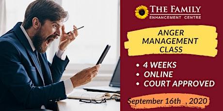 Affordable 4 Weeks Anger Management Class billets
