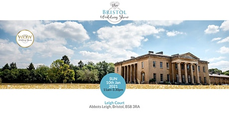 The Bristol Wedding Show Sunday 10th January 2021 tickets