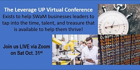 Leverage UP Virtual Business Conference tickets