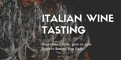 Wine Tasting at Royers - 4pm tickets