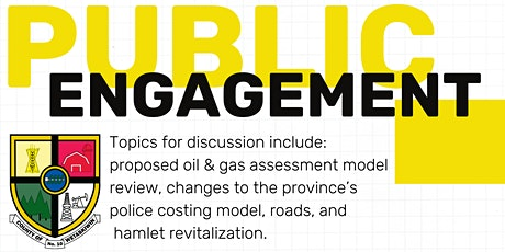 County of Wetaskiwin Citizen Engagement in Alder Flats: Session 2 tickets