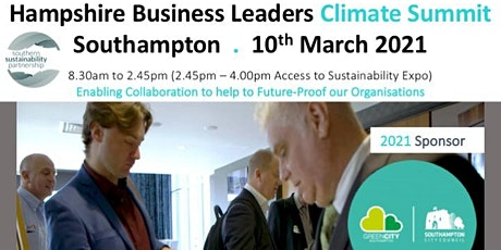 Hampshire Business Leaders Climate Summit 2021 tickets