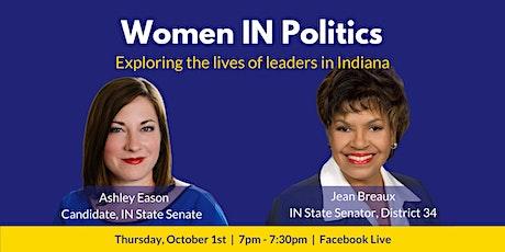 Women IN Politics: Ashley Eason & Jean Breaux tickets