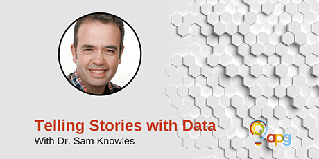 APG Workshop   Telling Stories with Data tickets
