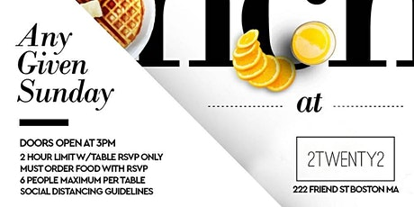 WE BRUNCH DIFFERENT - SUNDAY BRUNCH W/ TOI tickets