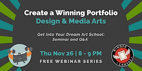 Create a Winning Portfolio - Design & Media Arts tickets